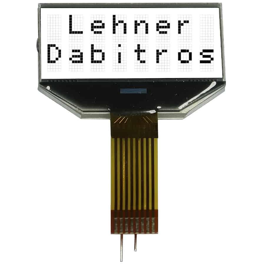 serielles transreflektives LCD Charakter Modul mit USB der Marke andi hergestellt von Lehner Dabitros / YL#