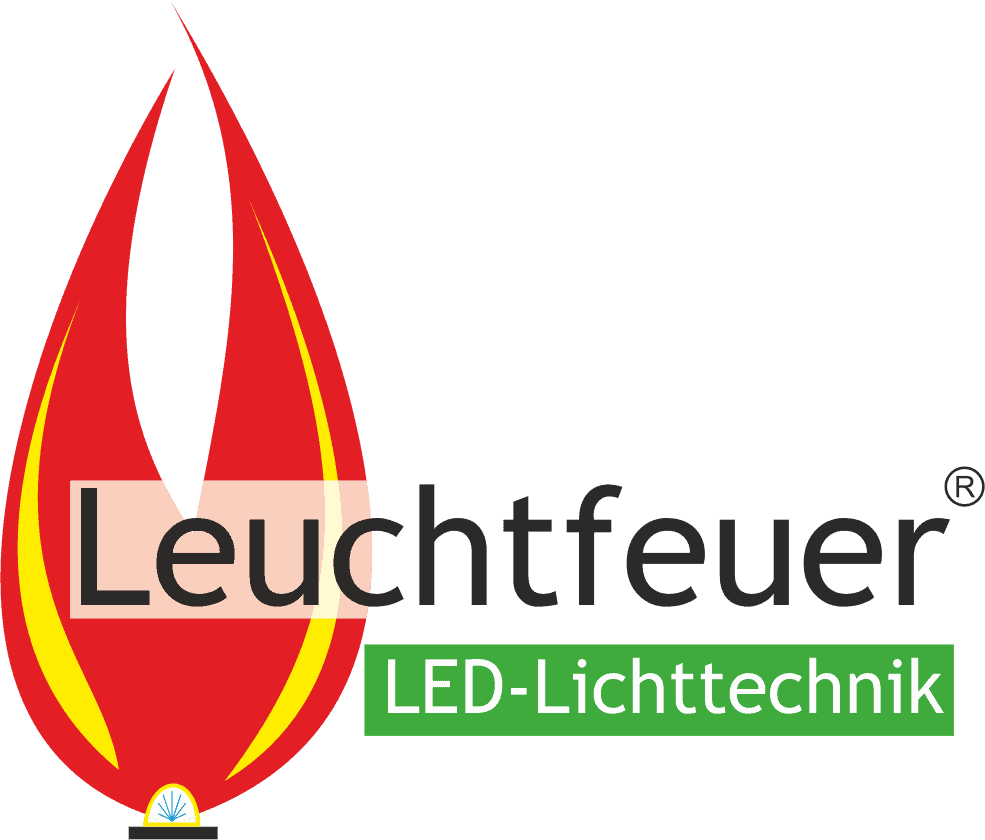 Logo Leuchtfeuer - effiziente LED Industrielichttechnik des Herstellers Lehner Dabitros