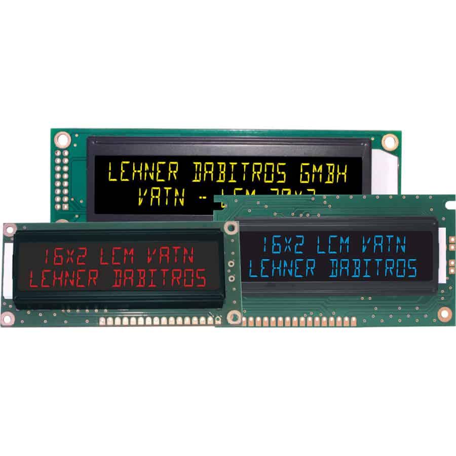 serielles VATN / EBTN LCD Module mit USB der Marke andi hergestellt von Lehner Dabitros / YL#
