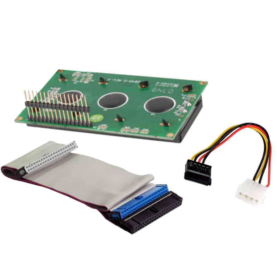 Zubehör wie Wannenstecker, Kabel und Buchsenleiste für LCD Module der Marke andi hergestellt von Lehner Dabitros / YL#