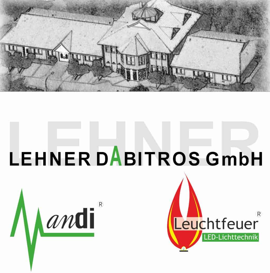 Logo Lehner Dabitros andi LCD & Leuchtfeuer LED Newsletter mit Firmengelände