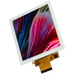 serielles LCD TFT Modul mit LED Hintergrundbeleuchtung als Touch Panel der Marke andi hergestellt von Lehner Dabitros / YL